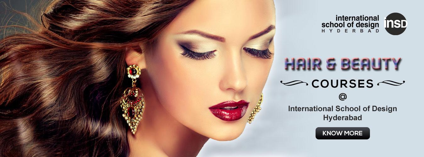 Beauty & Hair Courses - International School of Design (INSD), Hyderabad